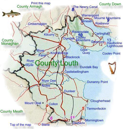 Map Of Ireland Louth.Oracle Ireland Com Group Of Sites Bringing You Businesses