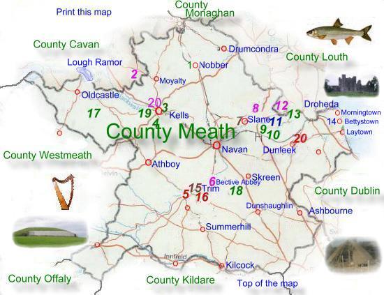 County Meath Co Meath Irish History