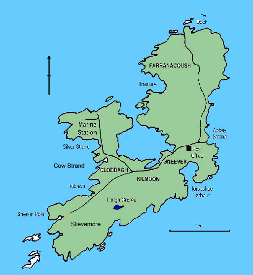 Islands Of Ireland Map.Sherkin Island Irish Islands Island Holidays In Ireland